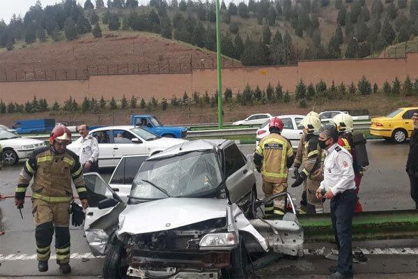 کاهش تلفات حوادث رانندگی در سال ۱۳۹۸/ ضربه به سر علت اصلی مرگ