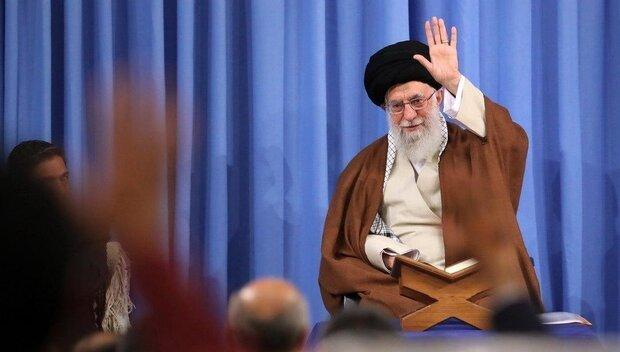مجلس قرآني لقائد الثورة الإسلامية في إيران أول أيام رمضان