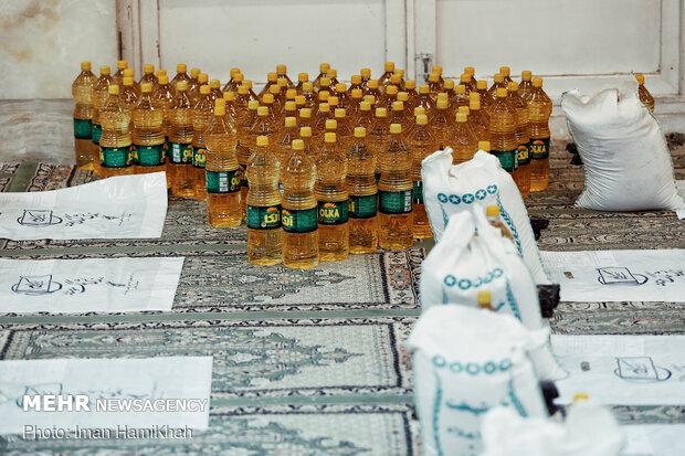 """حركة نهضوية لإعانة المتضررين جراء كورونا في مدينة """"همدان"""""""