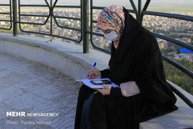 استهلال ماه رمضان در بام ایران