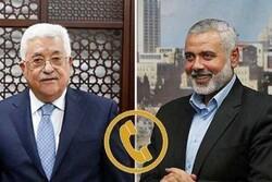 اسماعیل هنیه و محمود عباس درباره معامله قرن با یکدیگر گفتگو کردند