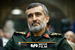 حضور سردار حاجی زاده در محل رای گیری انتخابات ریاست جمهوری