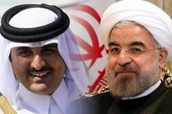 رسالة الرئيس روحاني الخطية الى امير قطر