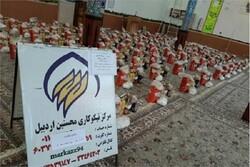 ۱۰۰۰ سبد غذایی بین نیازمندان استان اردبیل توزیع شد