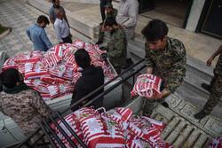 فارس میں سپاہ فجر کی طرف سے ہمدلی اور مؤمنانہ امداد کا سلسلہ جاری