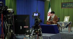 الحفل القرآنی لآیة الله السید علی الخامنئی عبر الدائرة التفزيونية المغلقة / صور
