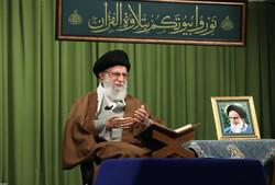 رہبر معظم انقلاب اسلامی کی موجودگی میں محفل انس با قرآن  منعقد