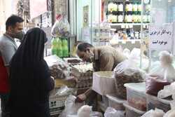 Semnan bazaar on 1st day of blessed month of Ramadan