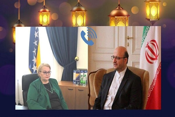 Tehran, Sarajevo call for expanding relations in various fields