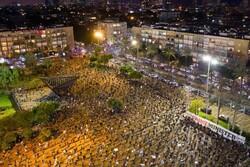 تظاهرات هزاران نفر در فلسطین اشغالی علیه کابینه ائتلافی اسرائیل