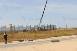 احداث دیوار الکترونیکی پیشرفته در مرزهای نوارغزه