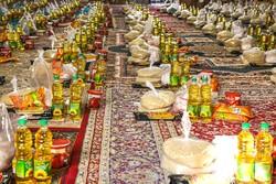 اهدای ۲۰۰ سبد کالا به شهروندان محلات کم برخوردار منطقه ۱۹