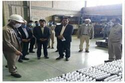 اهدای ۱۲ هزار ماسک و هزار لیتر الکل به شبکه بهداشت و درمان زاوه