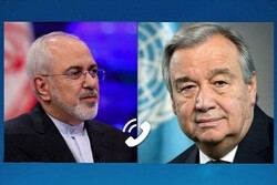 Zarif ile BM Genel Sekreteri Guterres telefonda görüştü