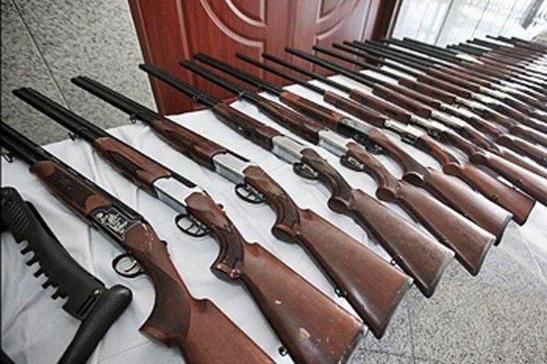 کشف ۸ قبضه سلاح غیرمجاز در عملیات ضربتی پلیس گلستان