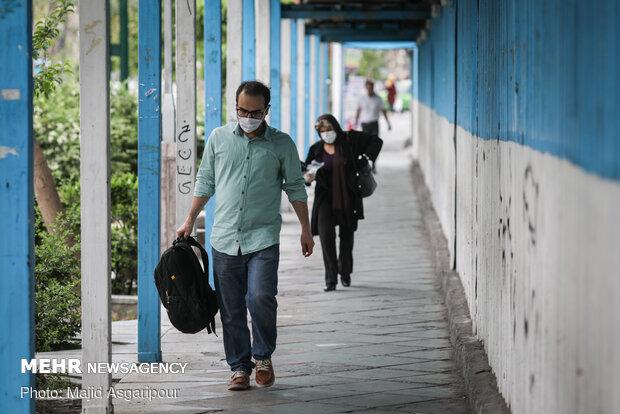 استفاده از ماسک و همچنین انتخاب مسیر های پیاده روی خلوت نقش مهمی در جلوگیری از انتشار ویروس کرونا دارد