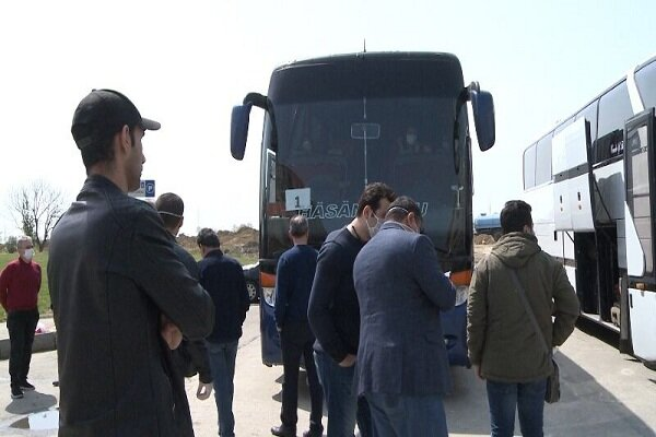 122 Iranians stranded in Azerbaijan Republic return home