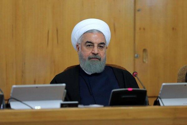 Sanctions, coronavirus cannot stop Iran's production: Rouhani