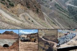 اجرای ۳ قطعه از مسیر قزوین -الموت- تنکابن ۸۰ درصد پیشرفت دارد