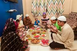 Müslüman ülkelerdeki iftar ziyafetlerinden kareler