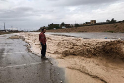 Heavy hurricane, rainfall in Semnan