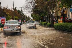 هشدار سازمان هواشناسی نسبت به آبگرفتگی معابر در برخی استانها