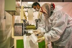 بیش از یک میلیون ماسک در واحدهای صنعتی کردستان تولید شد