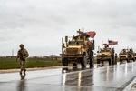 انفجار یک بمب در مسیر کاروان نظامیان آمریکایی در سوریه