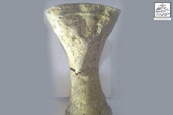 3,000 year-old silver cup discovered in Iran's Khalkhal