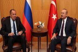 محورهای رایزنی وزرای خارجه ترکیه و روسیه