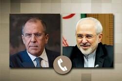 ایران اور روس کے وزراء خارجہ کی ٹیلیفون پرگفتگو/ امریکہ کا نیا منصوبہ مردود