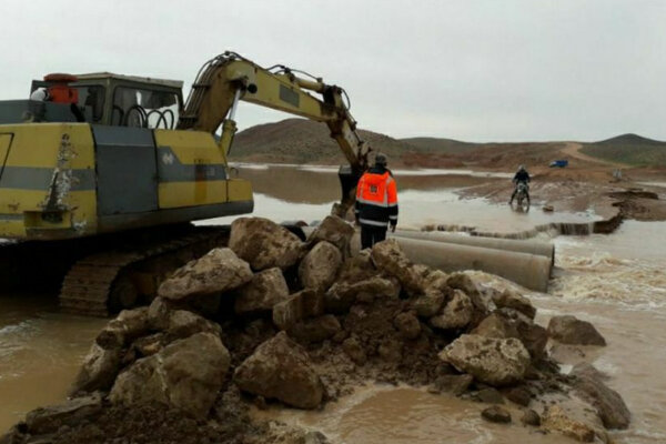 سیل به ۱۵۰ کیلومتر جادههای خراسان شمالی خسارت زد