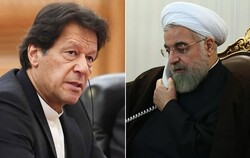 Rouhani, Imran Khan stress cooperation in COVID-19 battle