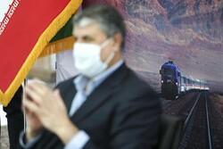 ايران ... مراسم تشغيل 56 قاطرة ومقطورة وطنية الصنع/ صور