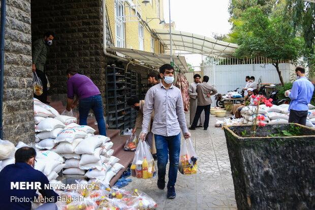 طلاب اروپا و امریکا در خدمت ایران همدل