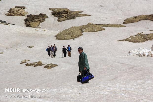 بازگشایی جاده دهستان موگویی پس از 7 ماه