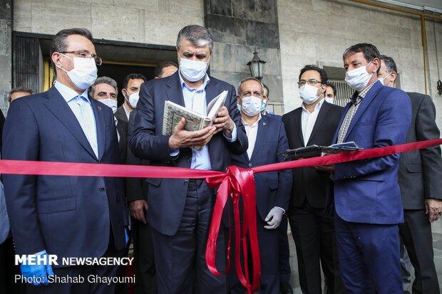 ايران ... مراسم تشغيل 56 قاطرة ومقطورة وطنية الصنع