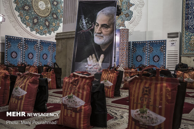 """""""Equality, Sincere Assistance Maneuver"""" at Imam Khomeini Mosalla in Rasht"""