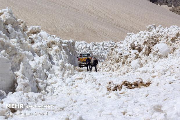 بازگشایی جاده دهستان موگویی پس از ۷ ماه
