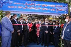 خط تولید موتورهای دیزلی و گیربکس با حضور وزیر صمت افتتاح شد