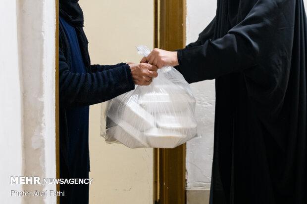 سفره ای به وسعت همدلی - طرح اطعام مهدوی در استان البرز