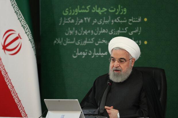 الرئيس روحاني: حققنا نجاحا ملحوظا في مواجهة كورونا