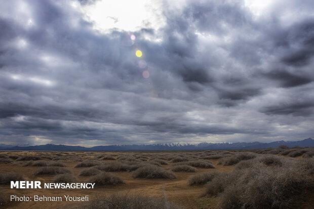 Meighan Wetland in Markazi province