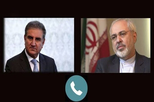Iran, Pakistan FMs discuss bilateral ties, regional developments