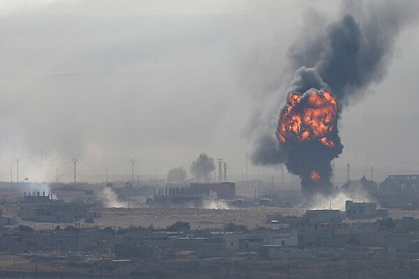 انفجار در مقر شبه نظامیان کرد تحت حمایت آمریکا در شمال سوریه