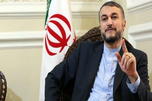 Amir-Abdollahian reacts to German ban on Lebanon's Hezbollah