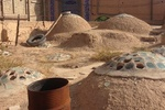 بخش هایی از بقایای یک حمام تاریخی در شهر سنندج کشف شد
