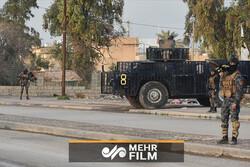 حشد الشعبی نے صوبہ صلاح الدین میں داعش کا حملہ ناکام بنادیا