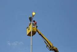 ۱۲ کیلومتر از راههایقزوین به سیستم روشنایی طولی مجهز شد