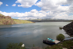 İran'ın Kürdistan eyaletinin en büyük barajından kareler